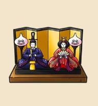 ひな人形:埼玉県のおみやげ 人形制作約380年の歴史を持つ埼玉。大きなピラミッドひな壇が有名。