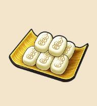白いまんじゅう:埼玉県のおみやげ 皮が餅のように柔らかい。歴史の息吹を感じながら食したい。