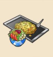 もんじゃ焼き:東京都のおみやげ 「はがし」と呼ばれる小さなヘラで はじっこのほうから味わおう!